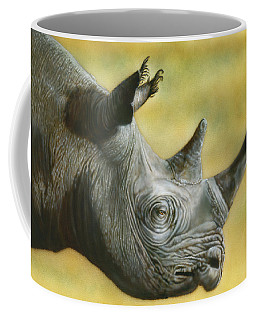 White Rhino Coffee Mug