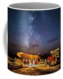 White Rim Camp Coffee Mug