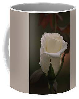 White Rose Coffee Mug by Donna G Smith