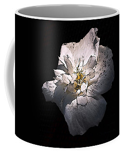 White Rose Of Sharon Coffee Mug