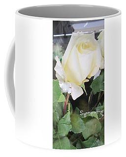 White Rose - Sympathy Card Coffee Mug