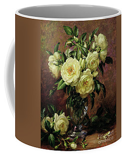 White Roses - A Gift From The Heart Coffee Mug