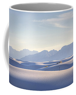 White Sands Blue Sky Coffee Mug