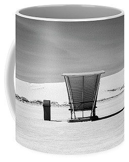 Coffee Mug featuring the photograph White Sands National Monument #10 by Lou Novick