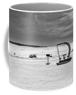 Coffee Mug featuring the photograph White Sands National Monument #9 by Lou Novick