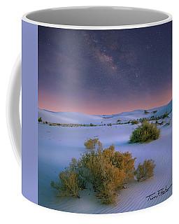 White Sands Starry Night Coffee Mug