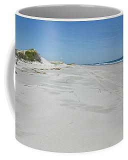 White Sandy Beach Coffee Mug