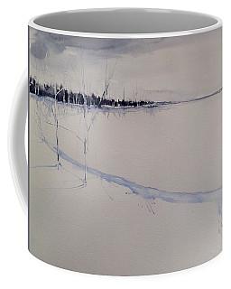 White Shell Lake Winter Coffee Mug
