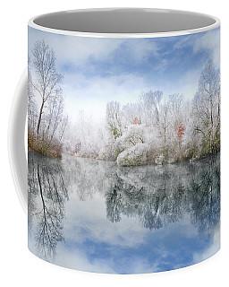 White Space Coffee Mug