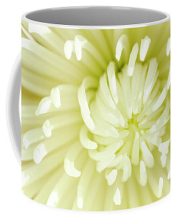 White Spider Mum Coffee Mug