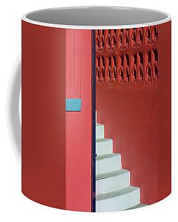 White Staircase Venice Beach California Coffee Mug