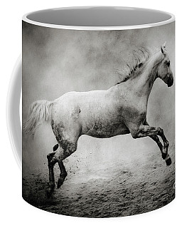White Stallion Coffee Mug