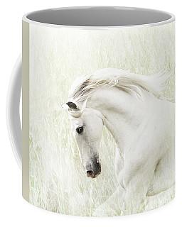 White Stallion Coffee Mug