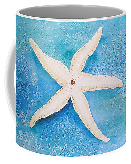 White Starfish Coffee Mug