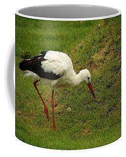 White Stork Coffee Mug