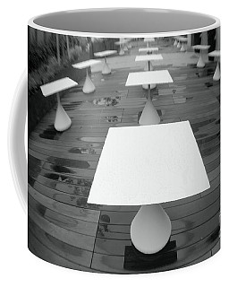 White Tables Coffee Mug