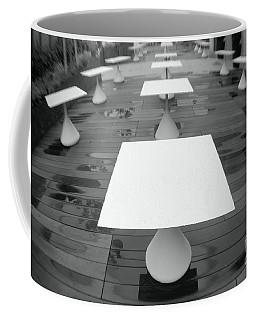 White Tables Coffee Mug