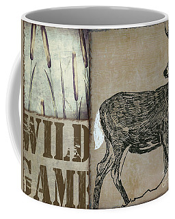 White Tail Deer Wild Game Rustic Cabin Coffee Mug