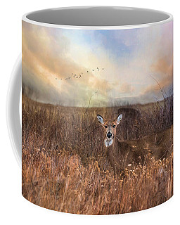 White Tail Coffee Mug