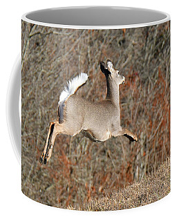 White-tailed Take Off Coffee Mug