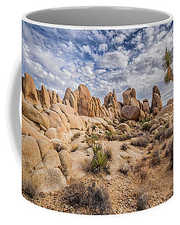 White Tank Rocks Coffee Mug