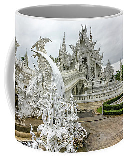 White Temple Thailand Coffee Mug