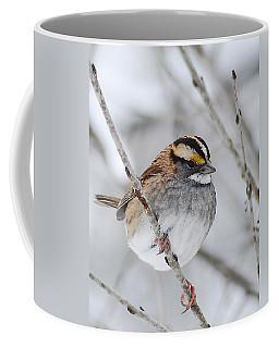 White Throated Sparrow Coffee Mug