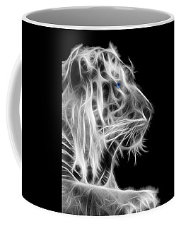 Coffee Mug featuring the photograph White Tiger by Shane Bechler