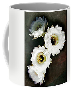 White Torch Blooms Coffee Mug