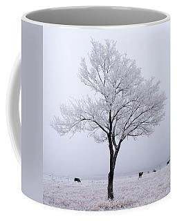 Whitewashed Coffee Mug