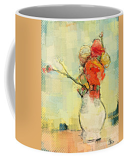 White Vase Coffee Mug