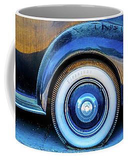 White Wall Tire Coffee Mug