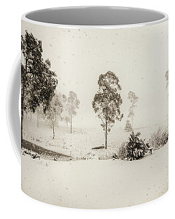 White Washed Coffee Mug