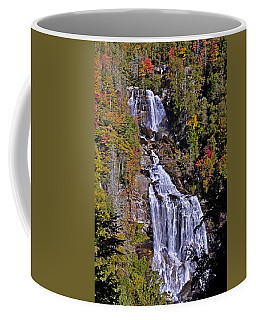 Coffee Mug featuring the photograph White Water Falls by John Gilbert
