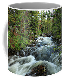 White Water Stream Coffee Mug