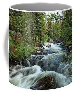 White Water Stream Coffee Mug