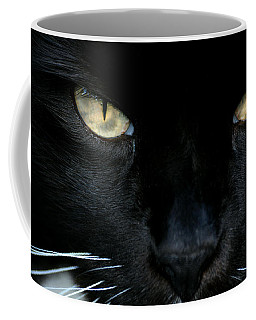 White Whiskers Coffee Mug