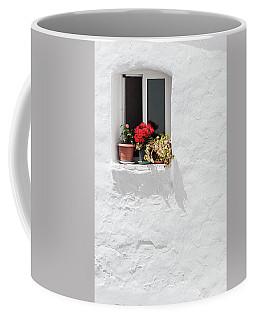 White Window Coffee Mug