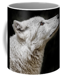 White Wolf Coffee Mug