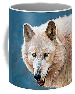White Wolf Coffee Mug