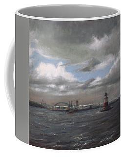 Whitecaps And Robbins Reef Coffee Mug