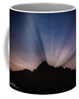 Whitehorse Mountain Moon Rays Coffee Mug