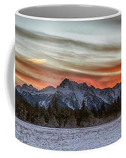 Whitehorse Sunset Panorama Coffee Mug