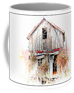 Whiteout In Opequon Coffee Mug by Suzanne Stout