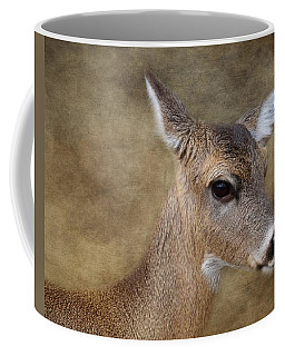 Whitetail Doe Portrait Coffee Mug by TnBackroadsPhotos