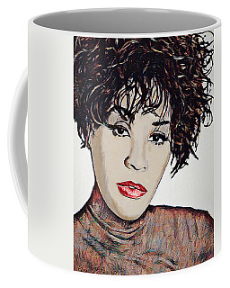 Coffee Mug featuring the digital art Whitney by Pennie McCracken