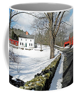 Whittier Birthplace Coffee Mug