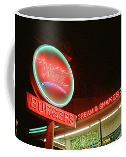 Whiz Burgers Neon, San Francisco Coffee Mug