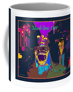 Who Dat At Night In The Quarter Coffee Mug