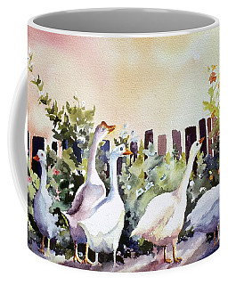 Who Is There Large Coffee Mug